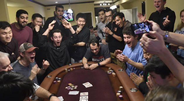 Hopkins professor wins big on poker class bet